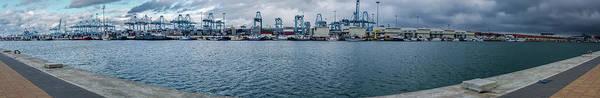 Photograph - Puerto De Algeciras Panorama by Borja Robles