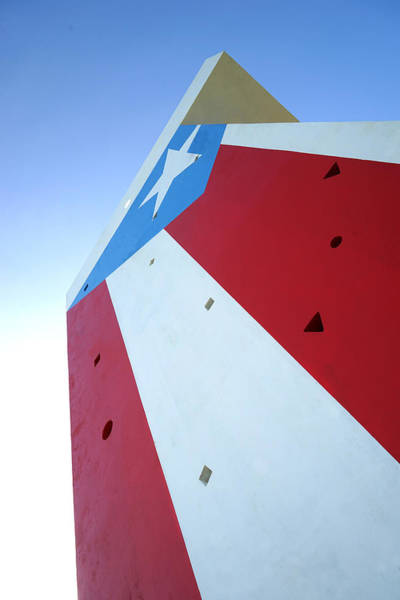Photograph - Puerto Rico - Concrete Flag by Richard Reeve