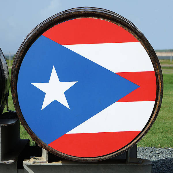 Photograph - Puerto Rico Rum Barrel by Richard Reeve