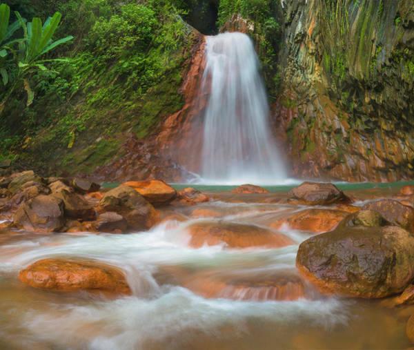 Wall Art - Photograph - Pulangbato Falls, Negros Oriental by Tim Fitzharris