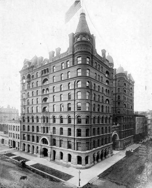 Wabash Avenue Wall Art - Photograph - Pullman Building by Chicago History Museum