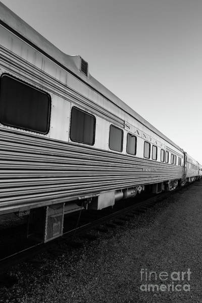 Wall Art - Photograph - Pullman Passenger Cars Santa Fe Railroad 2 by Edward Fielding