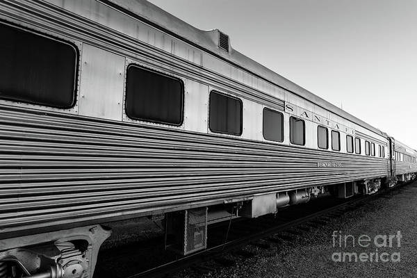 Wall Art - Photograph - Pullman Passenger Cars Santa Fe Railroad by Edward Fielding