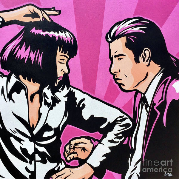 Wall Art - Painting - Pulp Fiction by James Lee