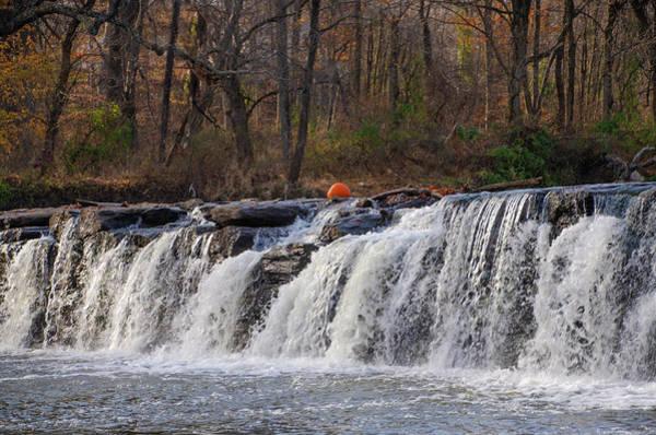 Photograph - Pumkin On Neshaminy Falls - Bucks County by Bill Cannon