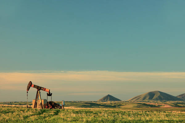 Wall Art - Photograph - Pumping Oil by Todd Klassy