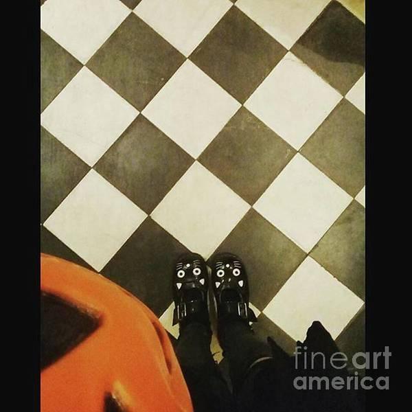 Photograph - Pumpkin Checkers by Kasey Jones