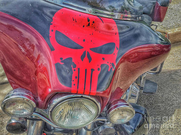 Photograph - Punisher by Tony Baca