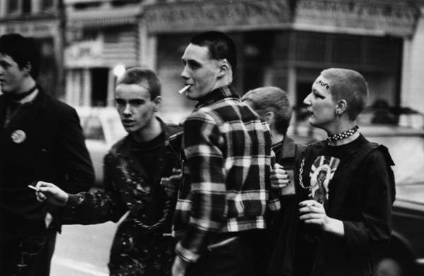 Photograph - Punk Clubbers by Chris Moorhouse