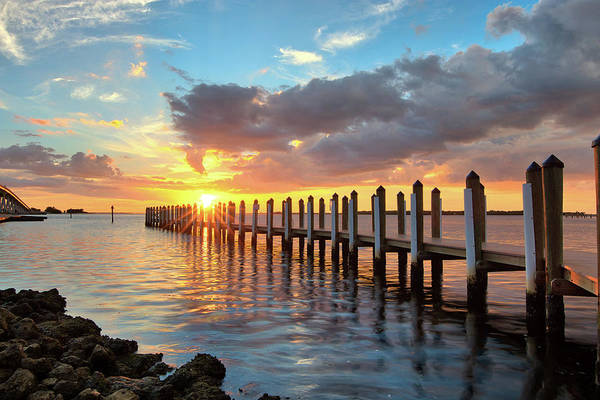 Photograph - Punta Rassa Sunset by Sean Allen