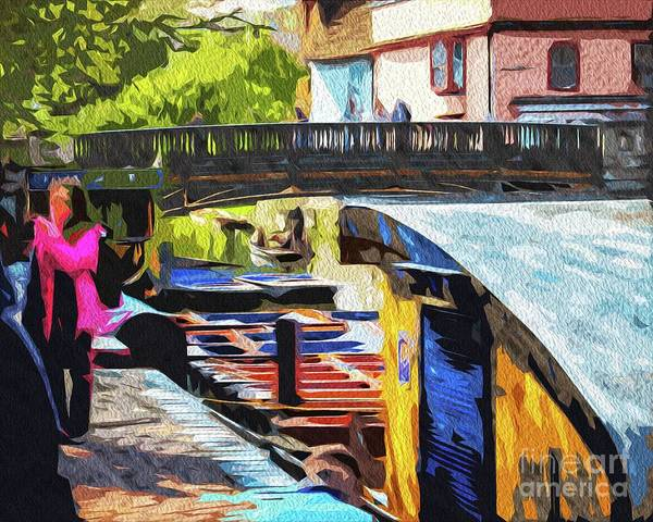Photograph - Punts For Hire by Nigel Dudson
