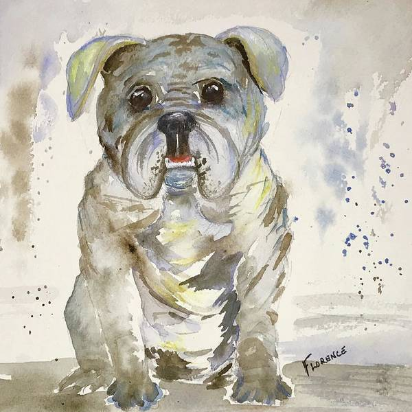 Painting - Puppy Love by Florence Ferrandino