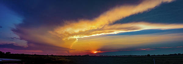 Photograph - Pure Nebraska Sunset 003 by NebraskaSC