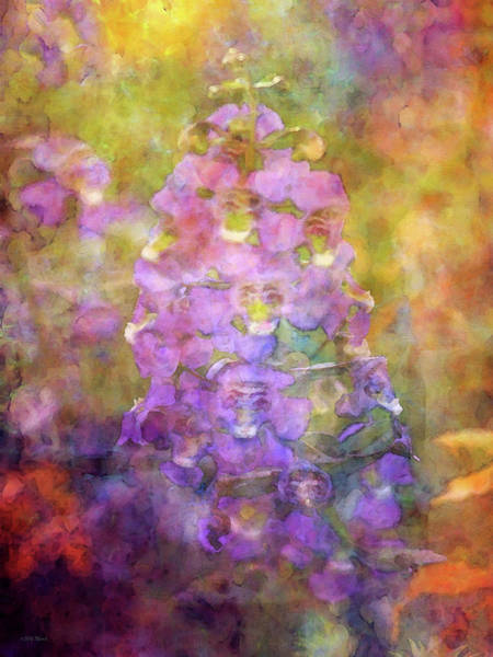 Photograph - Purple And Orange 4672 Idp_2 by Steven Ward