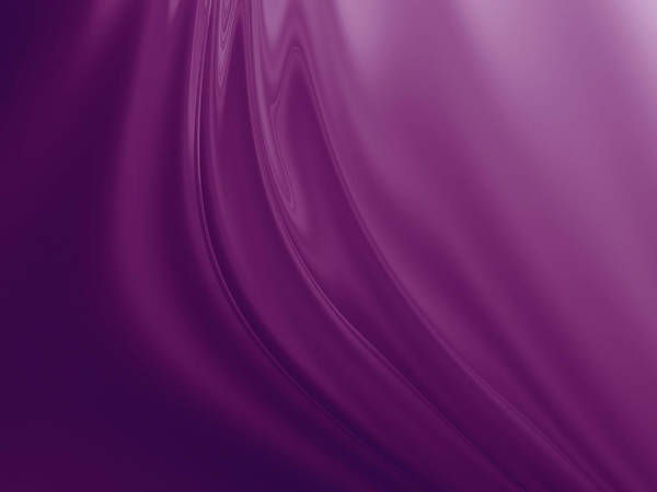 Wall Art - Digital Art - Purple Fabric by Rich Leighton