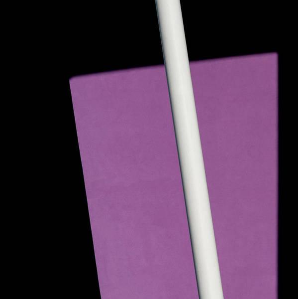 Photograph - Purple Geometry by Stuart Allen