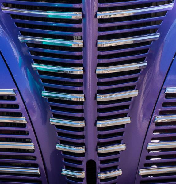 Photograph - Purple Grill by Tom Gresham