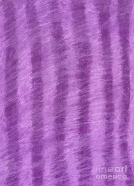 Purple Hazy Nights Art Print