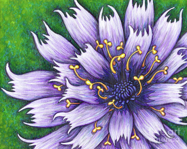 Painting - Purple Majesty by Amy E Fraser