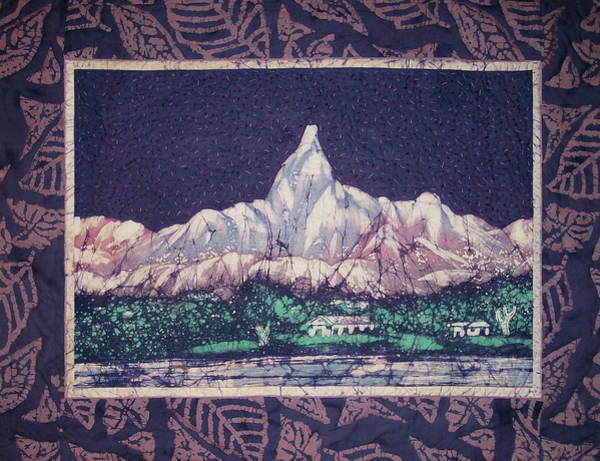 Tapestry - Textile - Purple Mountain Majesty by Pam Geisel