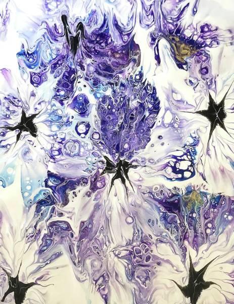 Painting - Purple Passion By Teresa Wilson by Teresa Wilson