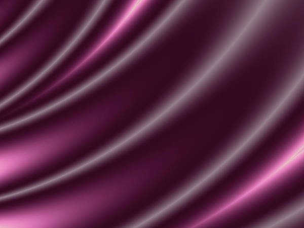 Wall Art - Digital Art - Purple Satin by Rich Leighton