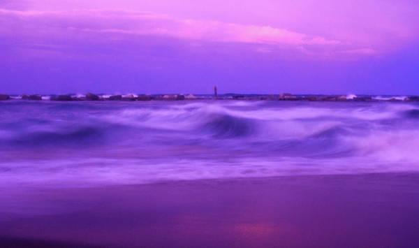 Wall Art - Photograph - Purple Sunset by Nguyen Anh Tu