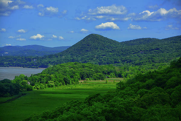 Photograph - Putnam County's Hudson Highlands From Bear Mountain's Purple Heart Memorial Bridge by Raymond Salani III