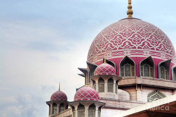 Landmark Building Photograph - Putra Mosque Is The Principal Mosque Of by Szefei