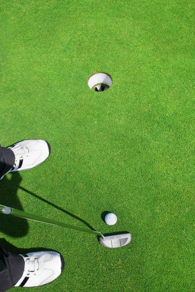 Golf Photograph - Putting On Green by Jan-otto