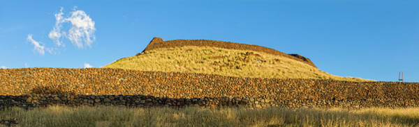 Wall Art - Photograph - Puukohala Heiau And Mailekini Heiau by Panoramic Images