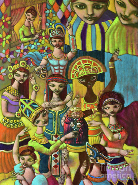 Philippines Wall Art - Painting - Pyesta Pilipinas by Paul Hilario