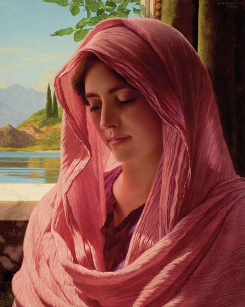 Painting - Pyrallis by John William Godward