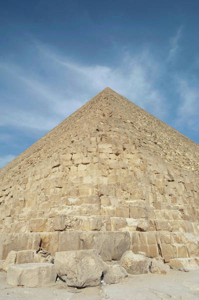 Giza Photograph - Pyramid At Giza, Egypt by Cultura Rm Exclusive/philip Lee Harvey