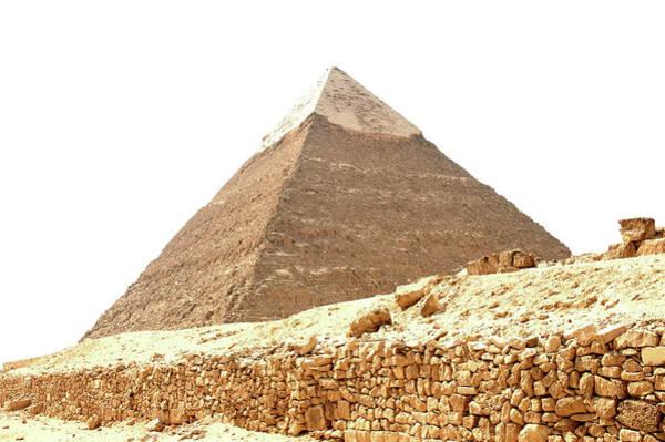Photograph - Pyramid At Giza by Mark Duehmig