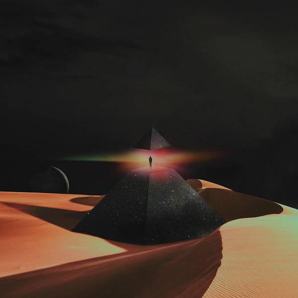 Wall Art - Digital Art - Pyramid by Fran Rodriguez