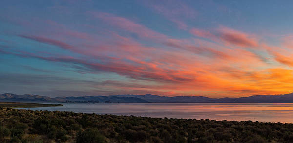 Photograph - Pyramid Lake Sunrise by Rick Mosher