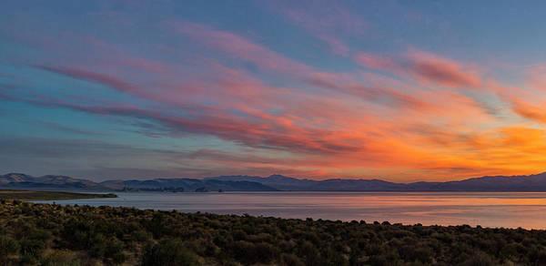 Photograph - Pyramid Lake Sunrise by Rick Mosher