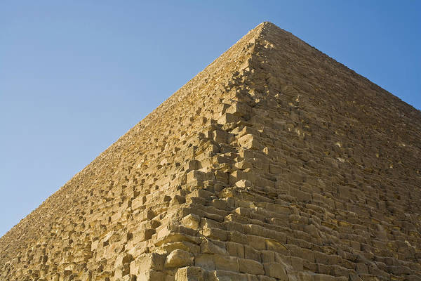 Ancient Egypt Photograph - Pyramid Of Cheops Also Called Khufu by Phillip Hayson
