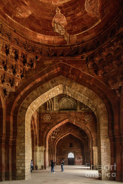 Photograph - Qila-i-kuhna Mosque 01 by Werner Padarin