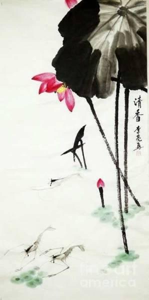 Painting - Qing Xiang Tu by Li Liang