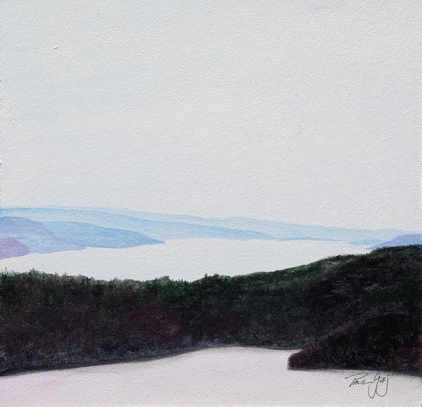 Painting - Quabbin Looking North by Paul Gaj