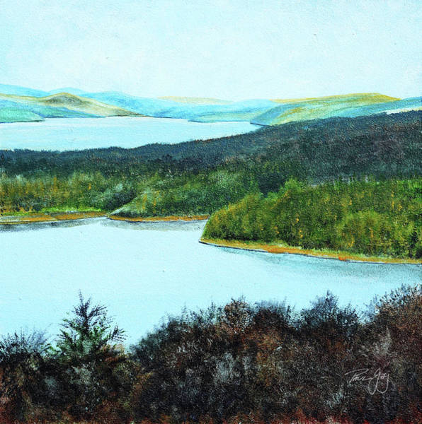 Painting - Quabbin Northwest by Paul Gaj
