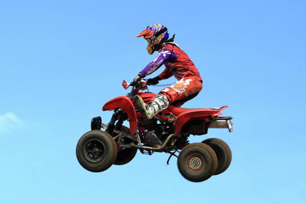 Four Wheeler Photograph - Quad  by Geraldine Scull