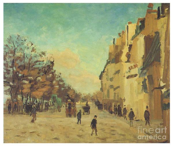 Gare Painting - Quai De La Gare by Jean-baptiste Armand Guillaumin