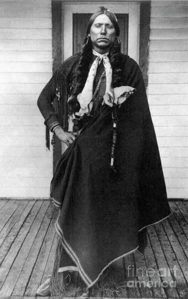 Photograph - Quanah Parker by Granger