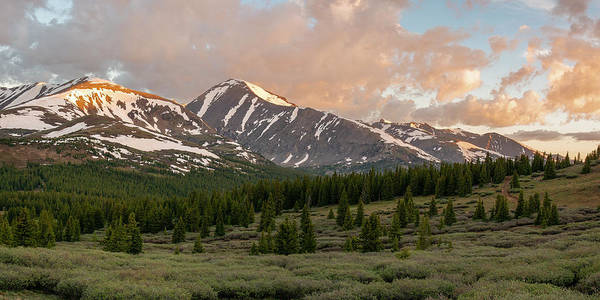 Photograph - Quandary Peak Sunrise by Aaron Spong