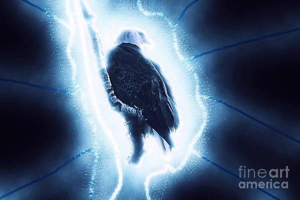 Digital Art - Quantum Eagle 1 by Matthew Nelson