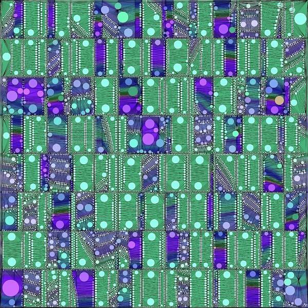 Digital Art - Quantum Motherboard by Susan Maxwell Schmidt
