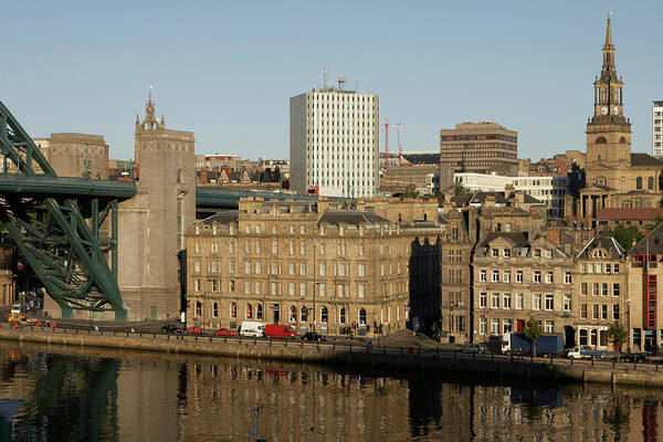 Newcastle Upon Tyne Photograph - Quayside Skyline by William Nilly